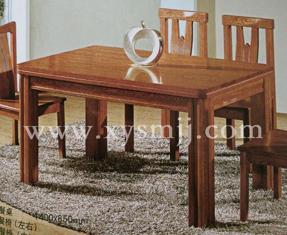 胡桃木长方餐桌 - 青岛轩雅家具有限公司-实木家具